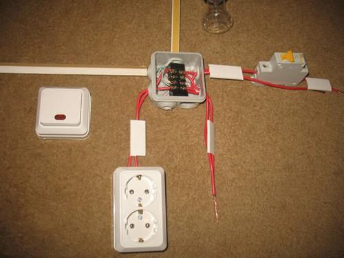 Электрическая коробка и